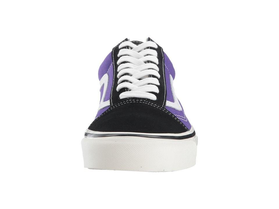 fd15132adc Vans UA Old Skool 36 DX Shoes (Anaheim Factory) Black OG Bright Purple