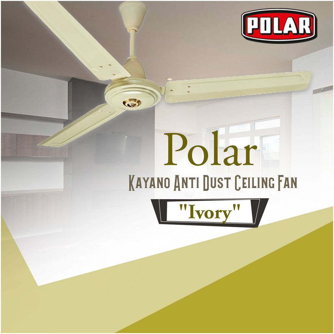 Kayano Anti Dust Ceiling Fan With Attractive Blade Look And Hassle Free Cleaning Polar Fan Ceilingfan Antidustcei Ceiling Fan Ceiling Windmill Ceiling Fan