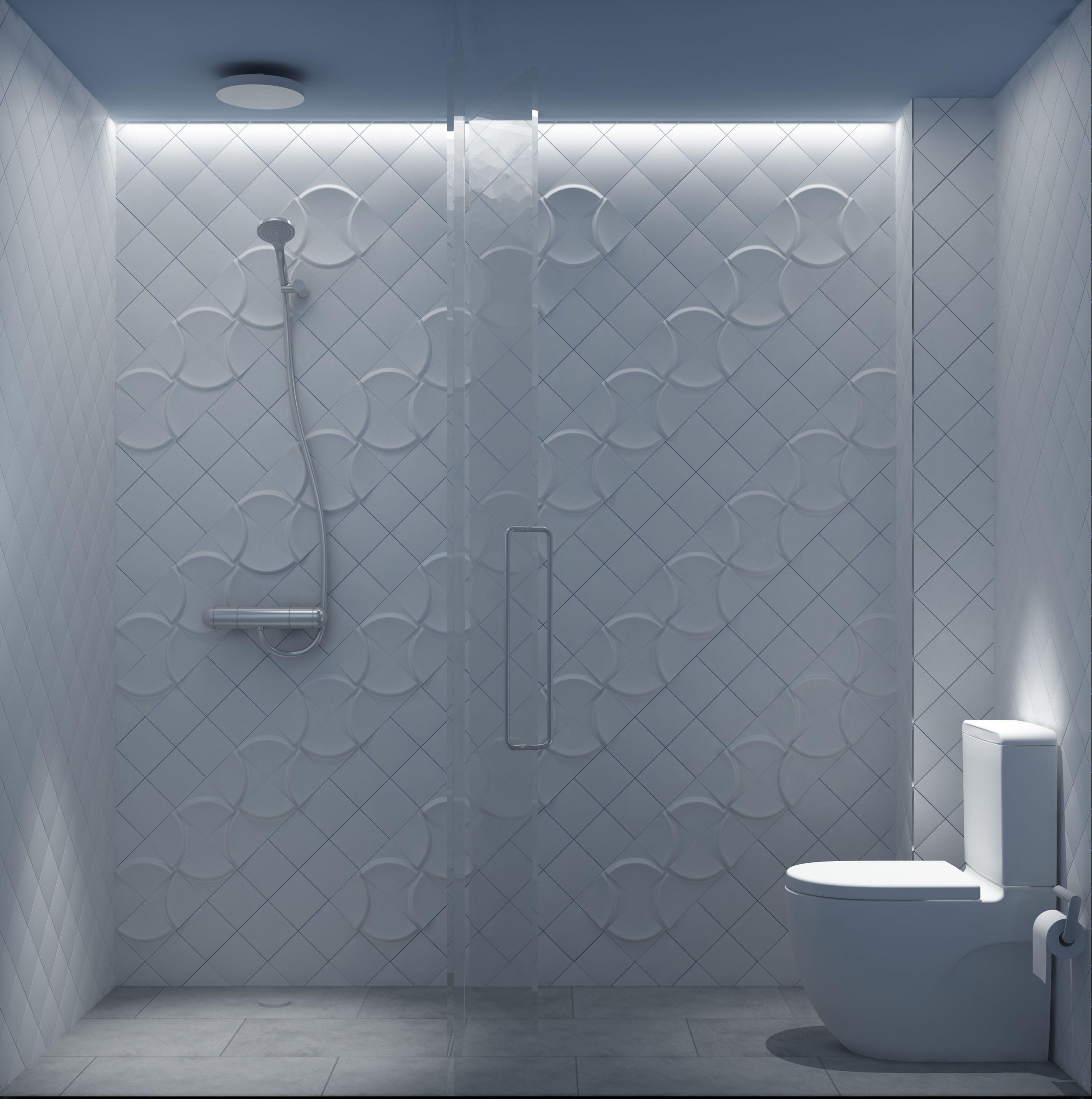 BOWL by STONE DESIGNES | HARMONY | wall tiles | 12x12 cm | Signature ...