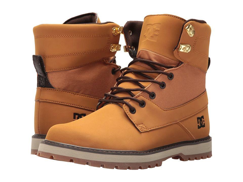 5a40fd3d1ce DC Uncas Men's Lace-up Boots Wheat/Black/Dark Chocolate | Products ...