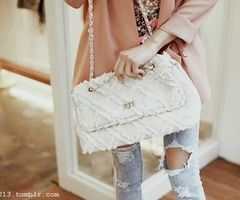 That purse + those jeans = heaven