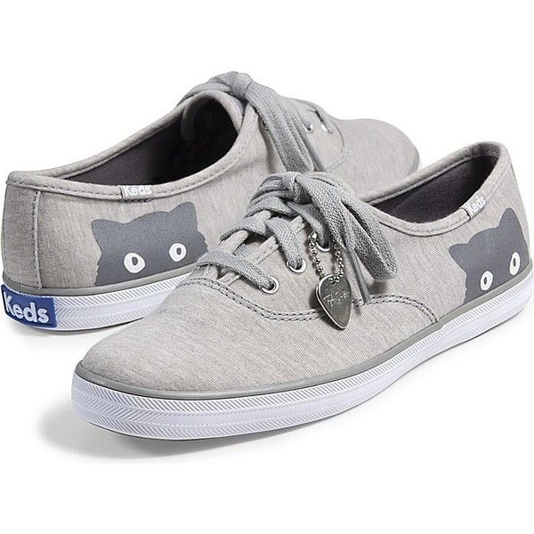 0af3144801e Keds TAYLOR SWIFT S CHAMPION SNEAKY CAT JERSEY ( 55) ❤ liked on Polyvore  featuring shoes