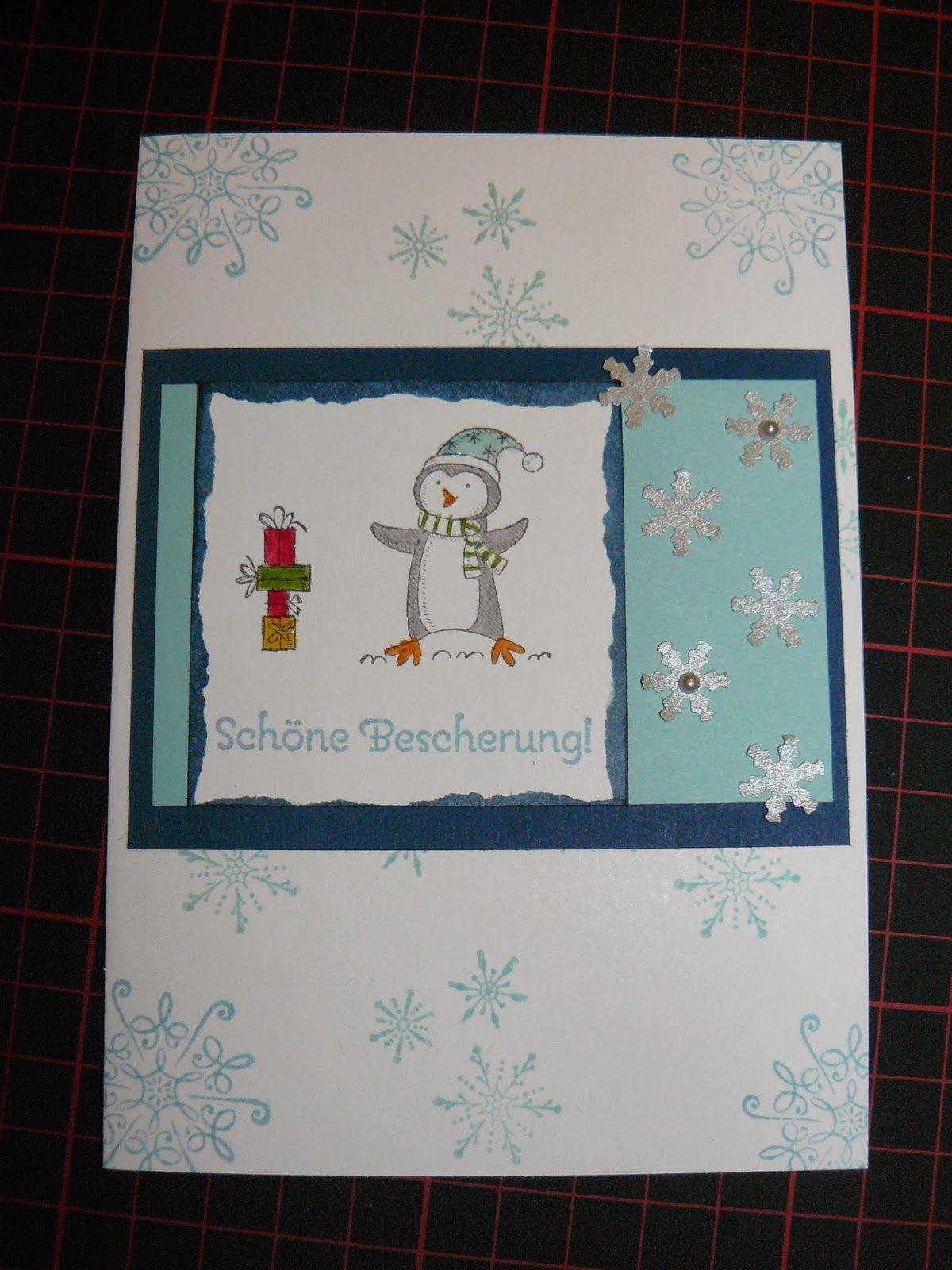 Kreativreport: Weihnachtskarte Nr. 3