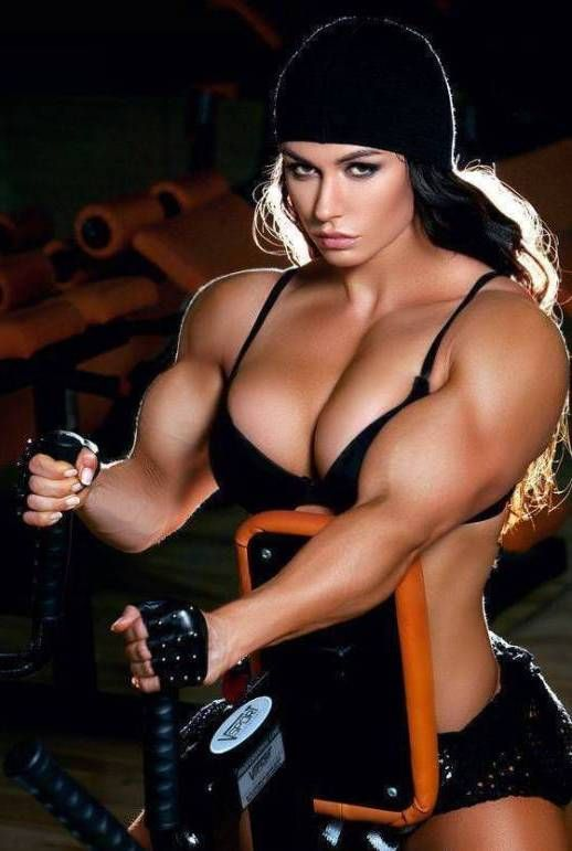 Russian Muscle Girl 1 by Turbo99 | Bodybuilding/mass