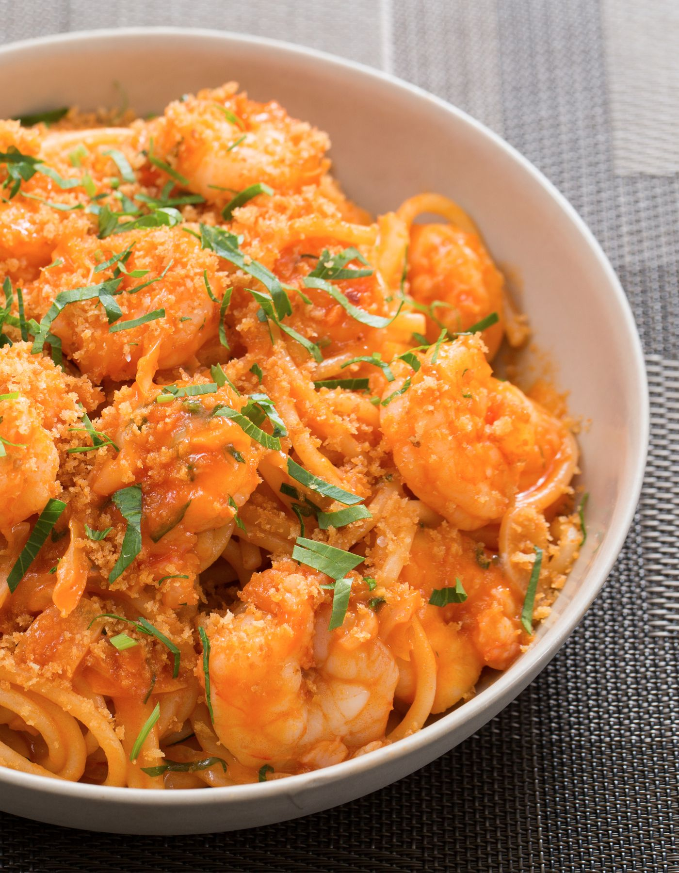 Blue apron udon catfish - Spicy Shrimp Spaghetti With Cabbage Toasted Breadcrumbs Shrimp Spaghettiblue Apronspicy