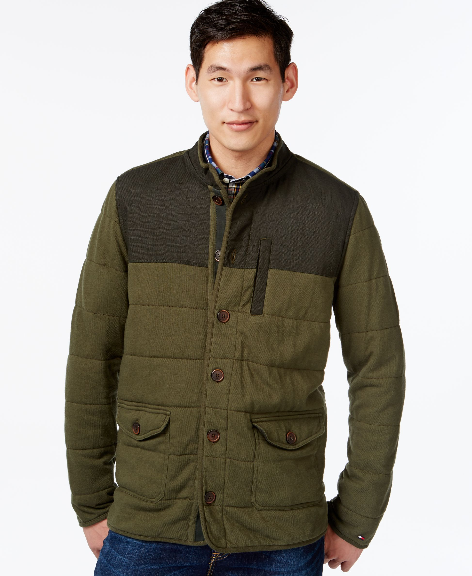 coat collection quilt p clothing wadded jacket mens black quilted