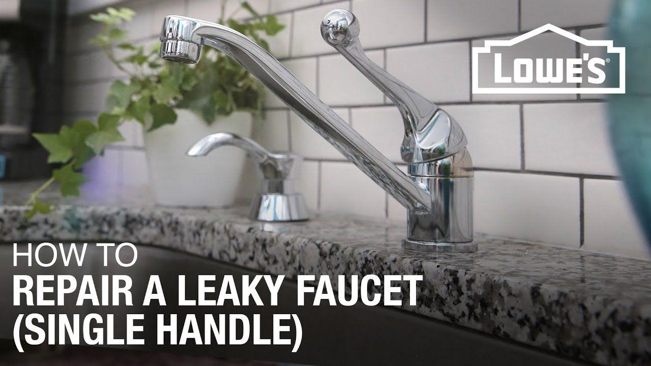 How To Fix A Leaking Single Handle Bathtub Faucet Quick And Easy Youtube Faucet Repair Shower Faucet Repair Tub Faucet