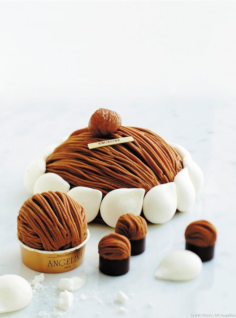 Un Mont-blanc succulent, inratable et à effet garanti: la mythique recette du salon de thé Angelina, fondé en 1903! Cette recette a été soufflée par le chefChristophe Appert, chef pâtissier chez Angelina.