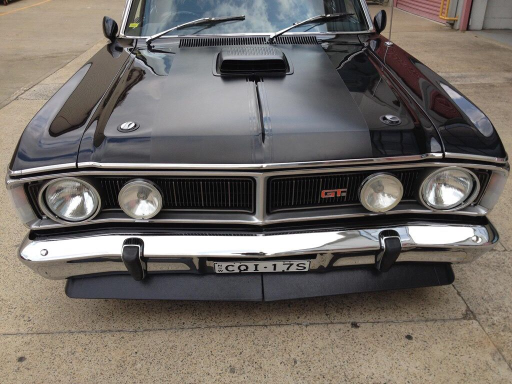 Meatiest front end ever!! XY GT Falcon | Muscle Cars | Pinterest ...