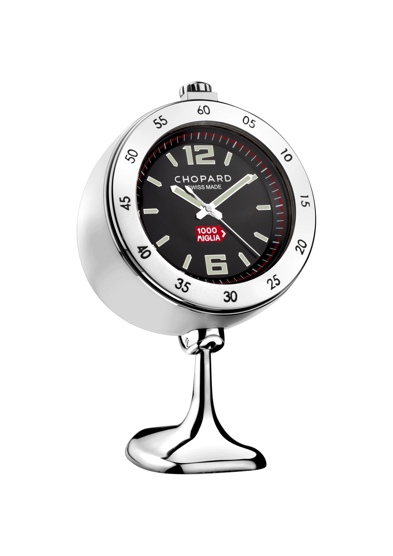 Vintage Racing Table Clock Clock Vintage Racing Steel