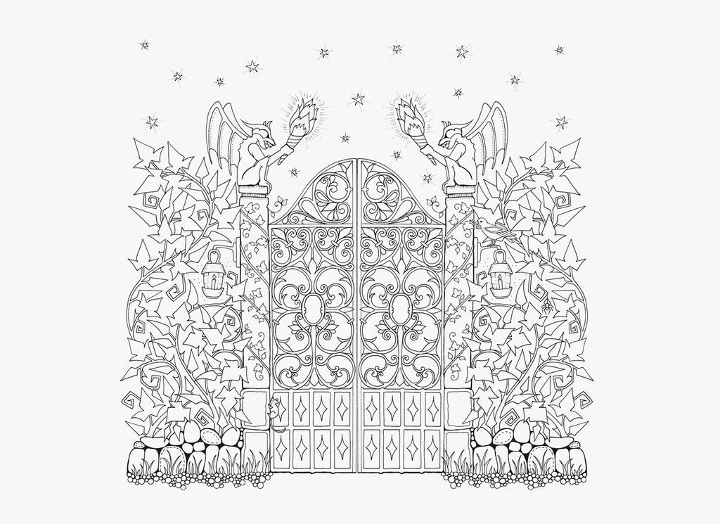 Johanna Basford Enchanted Forest Coloring Book Enchanted Forest Coloring Book Forest Coloring Book Enchanted Forest Coloring