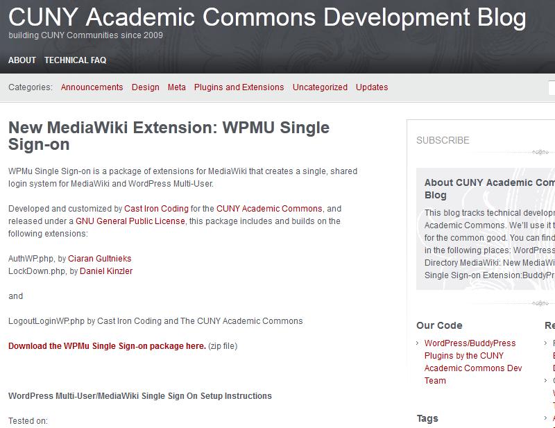 How to Integrate MediaWiki with WordPress Wordpress