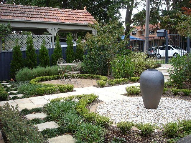 Front garden idea | FRONT DOOR GARDEN IDEAS | Pinterest | Garden ...