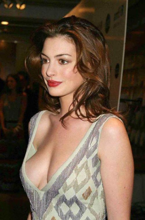 Celebrity down blouse