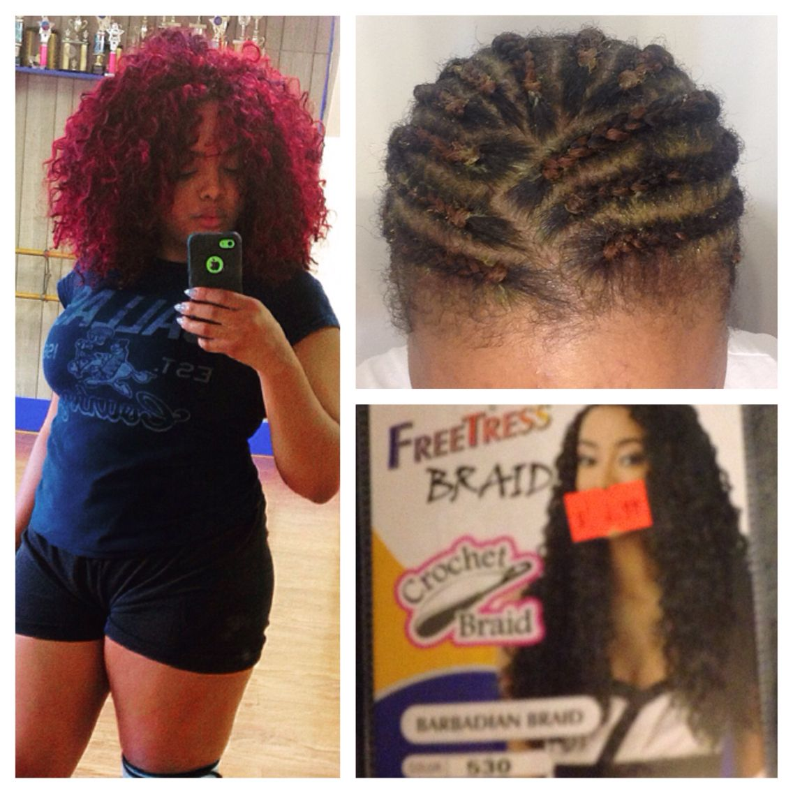 Does crochet braid damage hair fastest - My New Do Crochet Braids With Barbadian Braid From Freetress 6 99 Pk