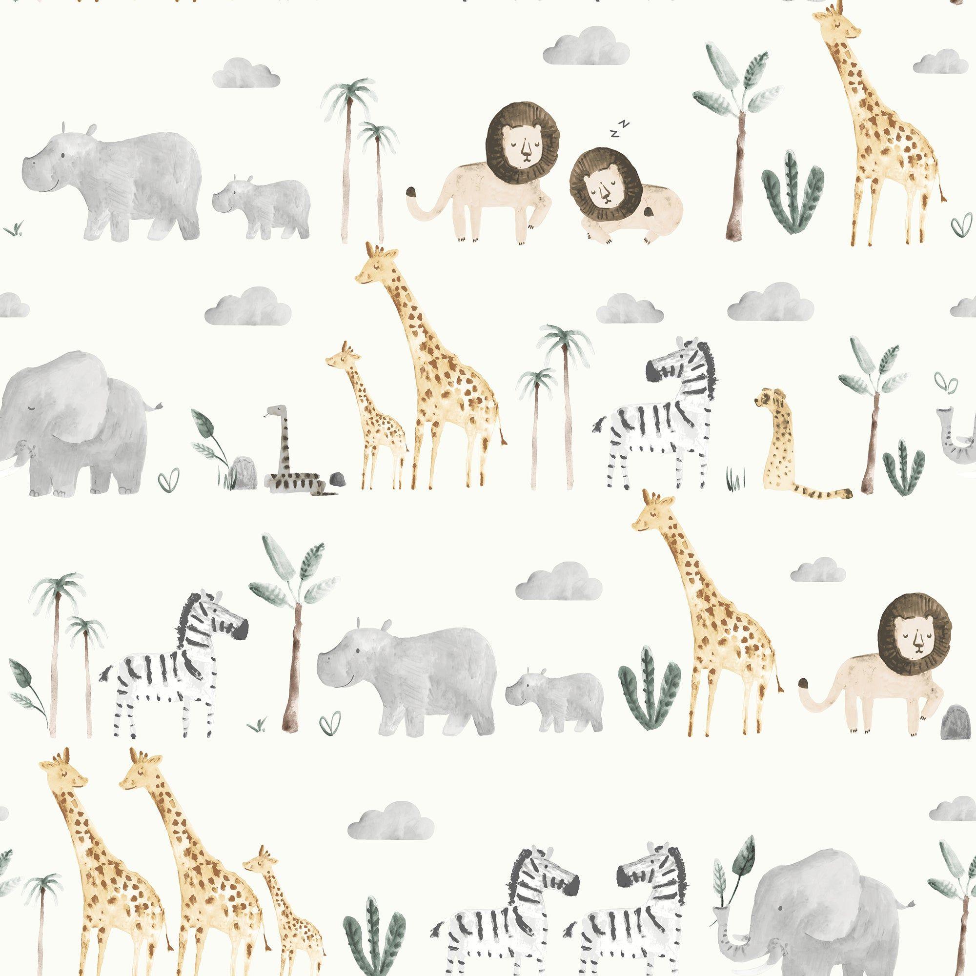 Safari Natural Wallpaper