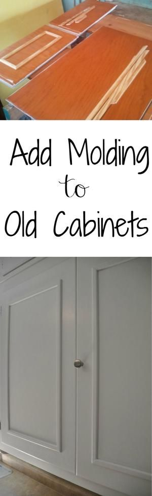 update old cabinets | Kitchen cabinets makeover, Cabinet ...