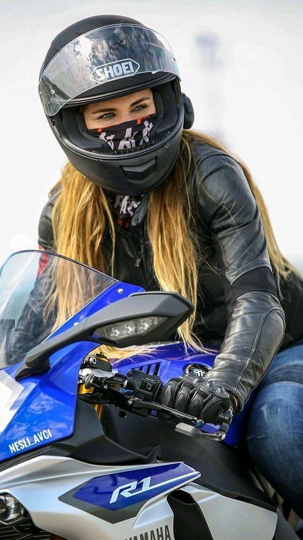 Bandana masked Biker Chick bandana biker chick masked