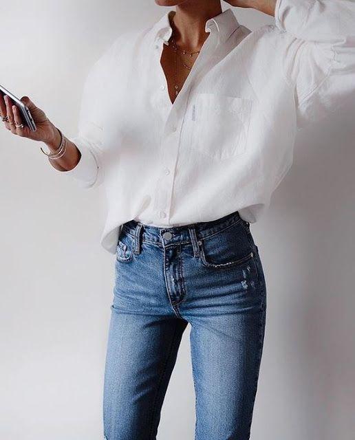 Mehr als 20 Möglichkeiten, Ihre Jeans diesen Herbst zu stylen - fashion beauty #travelwardrobesummer