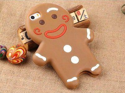 Starry ジンジャーマン (ジンジャーブレッドマン) iPhone 6 / 6s ケース ココアクッキー