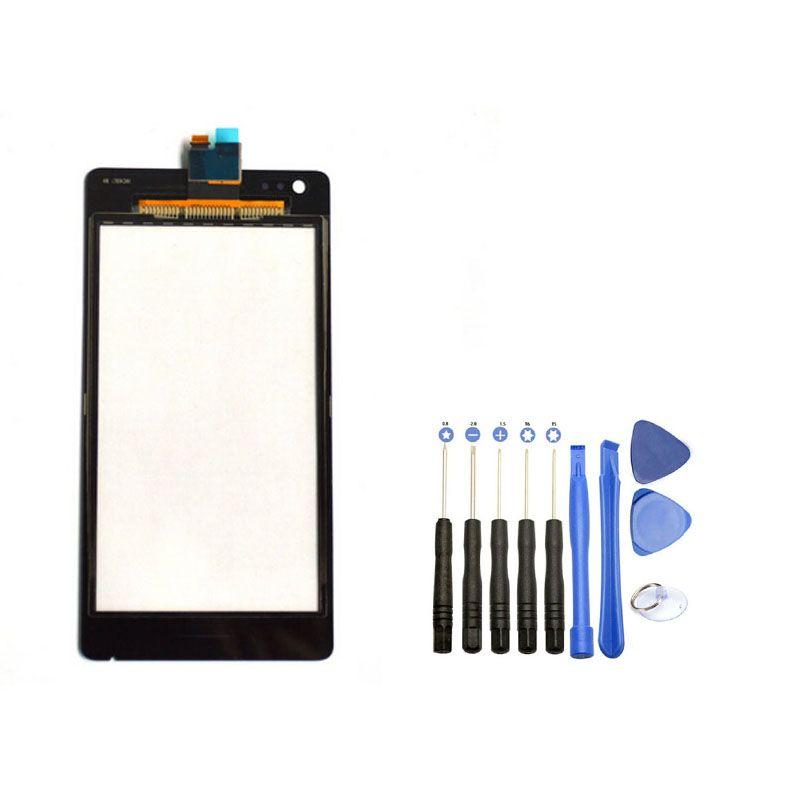 디지타이저 sony xperia m c1904 c1905 c2004 c2005 유리 렌즈 교체 + 열기 도구 무료 배송