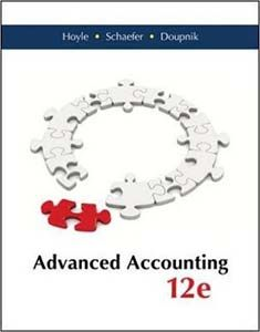 Advanced accounting 12th edition by hoyle schaefer doupnik solutions advanced accounting edition by hoyle schaefer and doupnik pdf ebook fandeluxe Gallery