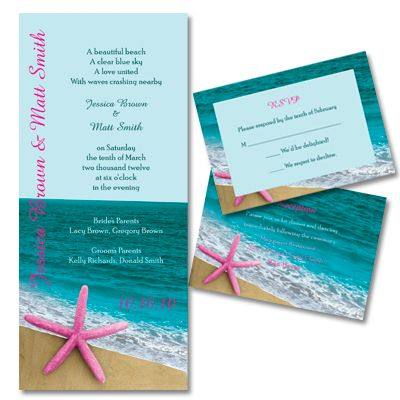 beach wedding ideas | Do it Yourself Beach Wedding Invitations | Green Wedding Consortium