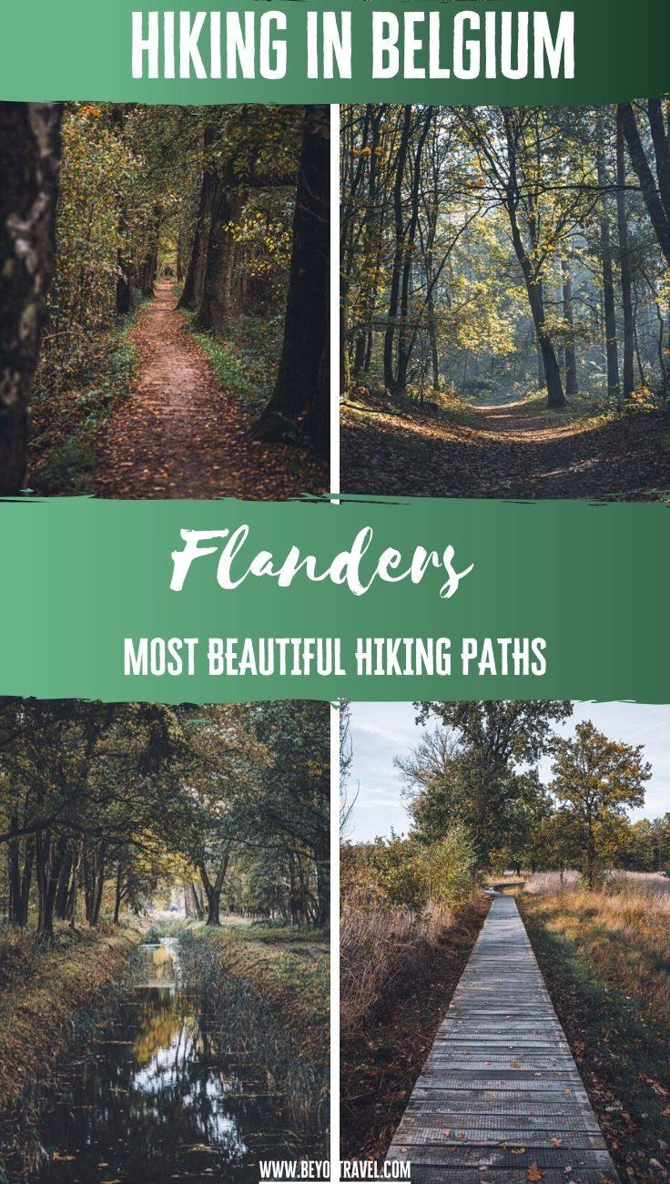 Hiking in Belgium - Flanders most beautiful hiking