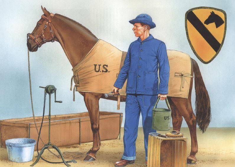 """World War II. US Cavalry Units. Pacific Theater"" de Gordon L. Rottman"