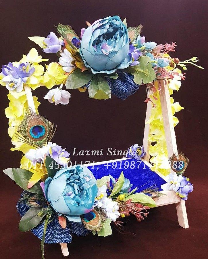 Decorated Krishna Jhula For Janmashtmi Contact Us : 011