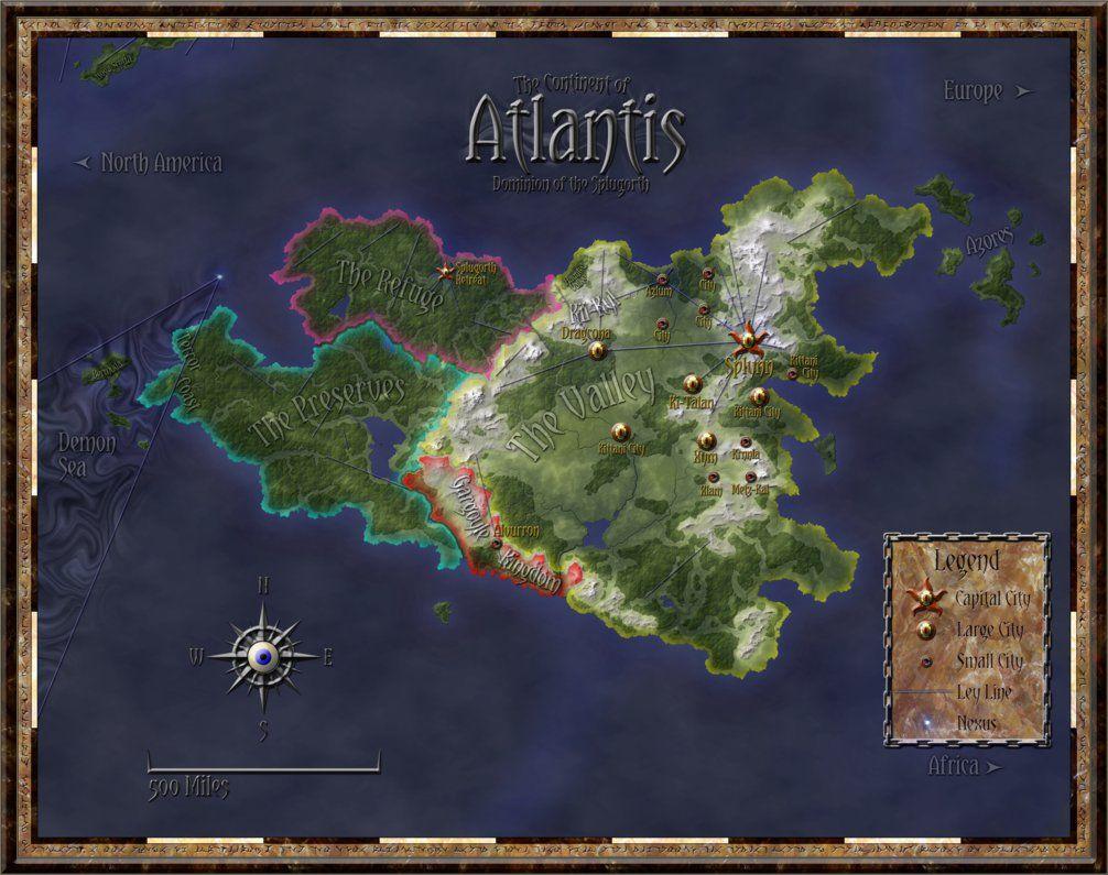 Atlantis Rifts Rpg By Ferocefv Deviantart Com On Deviantart