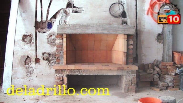 Como Construir El Pulmón Y La Garganta De La Chimenea Albañileando Como Construir Una Chimenea Chimeneas Planos De Chimeneas