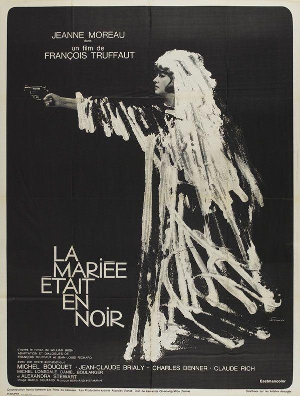 la mariée était en noir (1968)- françois truffaut | films/tv/music