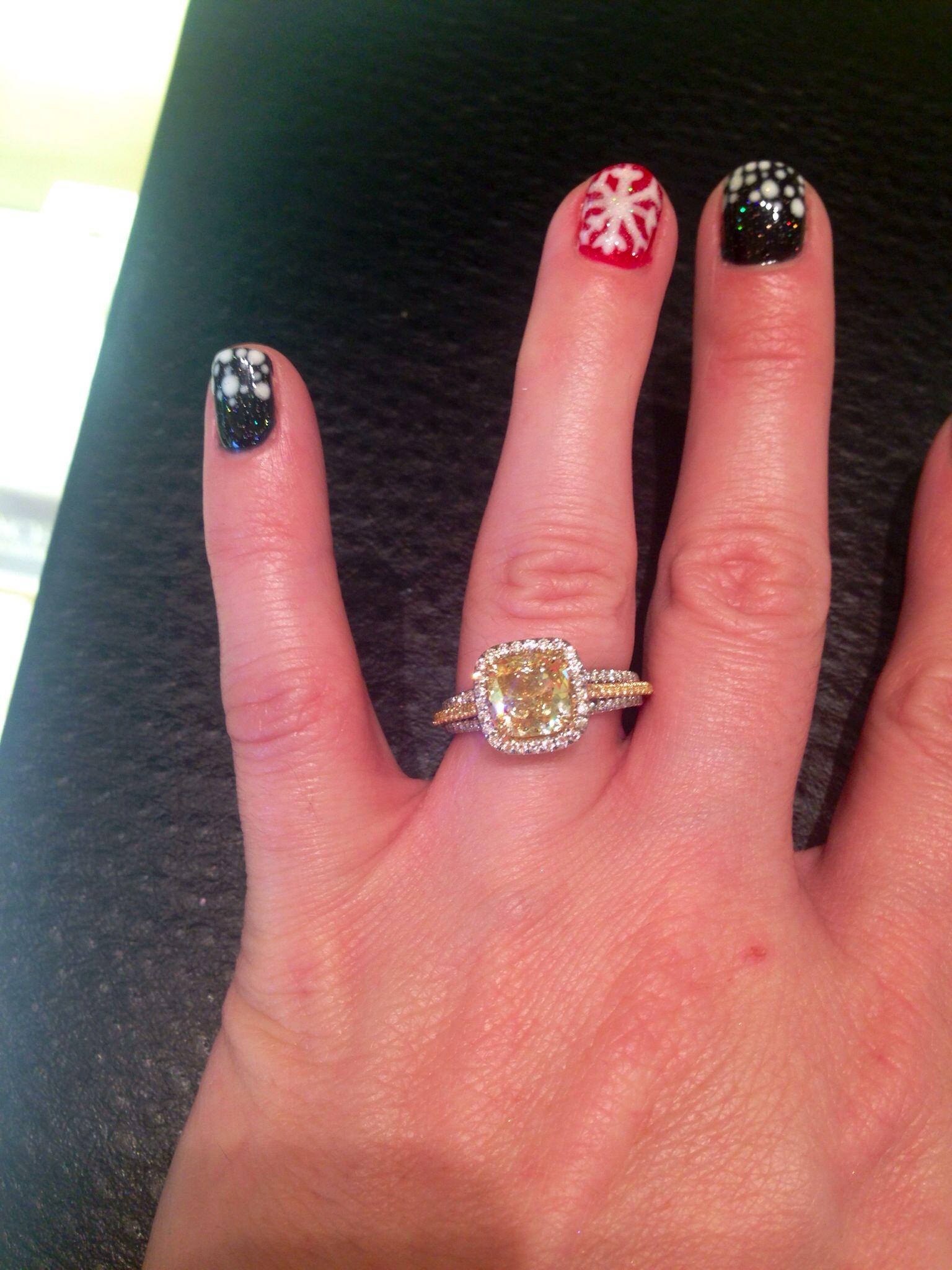 LeVian Yellow Diamond Ring!   Jewelry   Pinterest   Diamond and Ring