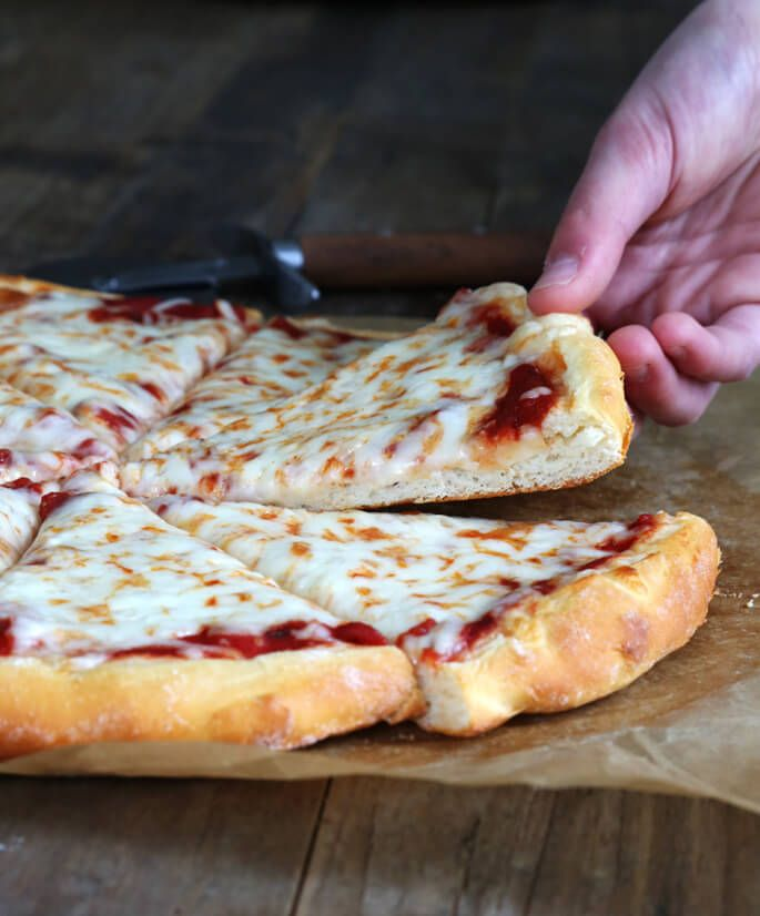 How to make pizza dough fast without yeast
