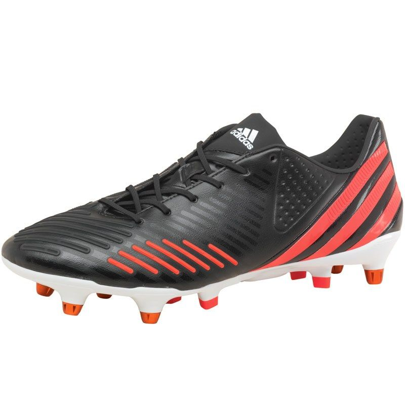 Adidas Predator Lz Xtrx Sg- Black football shoes