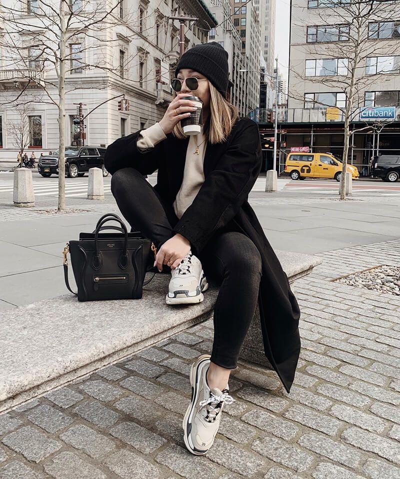 buy balenciaga triple s trainers beige  black in 2020