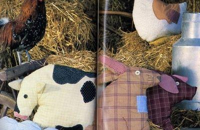 [Couture] Les coussins animaux de la ferme