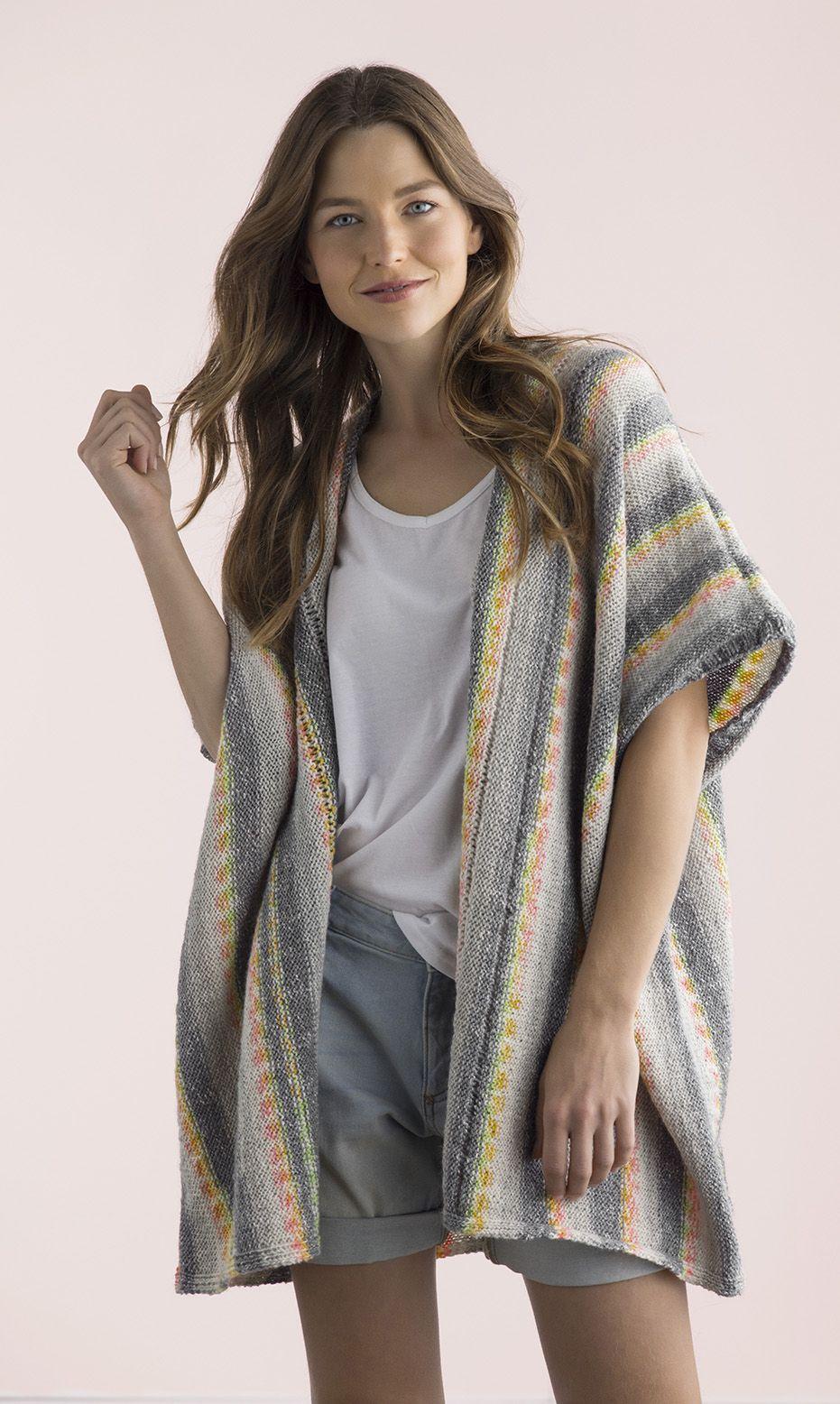 Summer knit kimono by Patons Australia   Kimono pattern ...