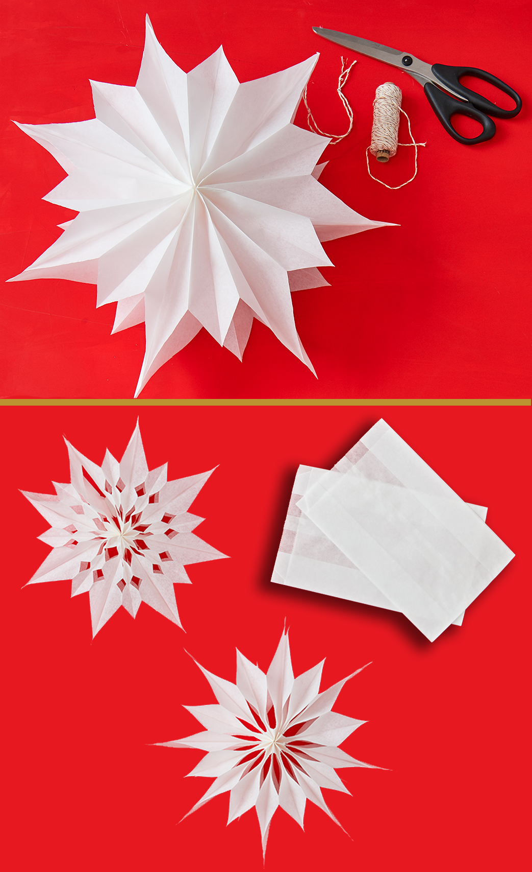 origami so bastelt ihr sterne aus butterbrott ten upcycling basteln basteln mit kindern. Black Bedroom Furniture Sets. Home Design Ideas