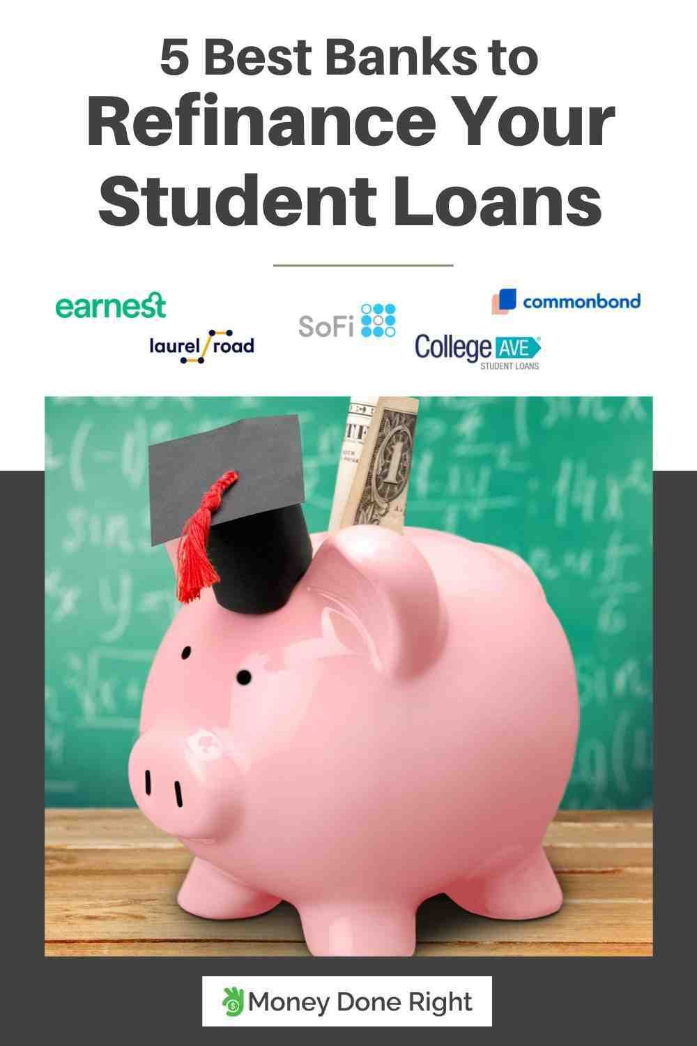 Best way to refinance federal student loans