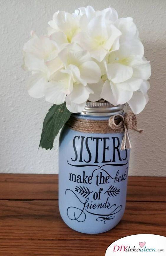 Geburtstagsgeschenk für die Schwester - 25 Geschenke für