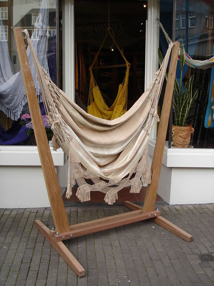 hammock chair with stand office jeddah 15 inexpensive diy tutorial guide apartment decor stands projects craft ideas