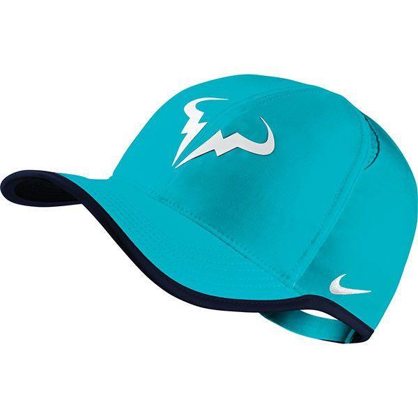 790a02cc81d ... best service 19552 41b79 Nike Rafa Nadal Featherlight Cap - Omega Blue  ...