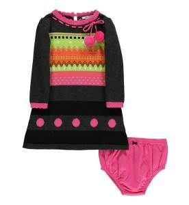 Infant Sweater Dress Ensemble