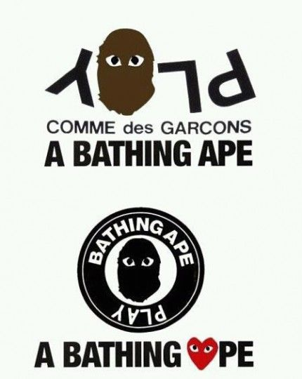 85a6dc8a1 A Bathing Ape x Comme des Garcons PLAY Collection