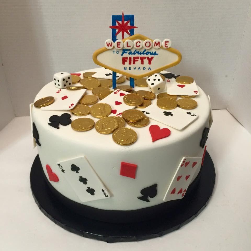 Las vegas themed birthday cake cake themed birthday