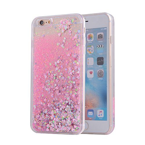 iPhone 6s case iphone 6 case Asstar Cool Moving Stars Bling Glitter  Floating Dynamic Liquid Case 64a4a638e3