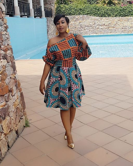 Ankara Style 2018: Latest And Modern Gowns Tops Dresses