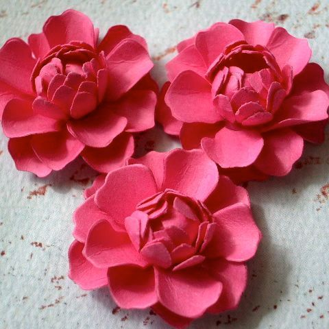 Handmade Paper Flowers By Dragonfly Expression Paper Crafts